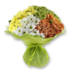 Bouquet of chrysanthemums to Chernivtsi